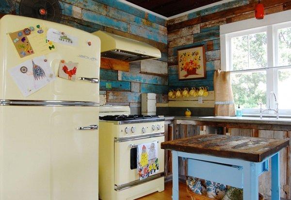 Необычный дизайн кухни