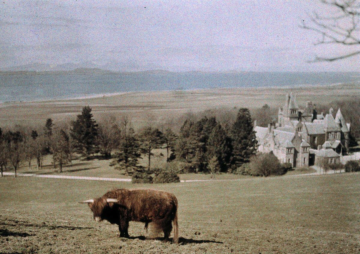 1920.  Замок Брааль, Шотландия