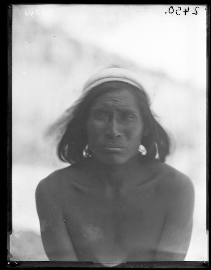 1898. Мужчина племени тараумара, Чихуахуа