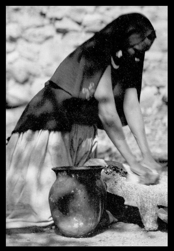 1895. Женщина из племени Уичоли. Халиско , Санта-Катарина