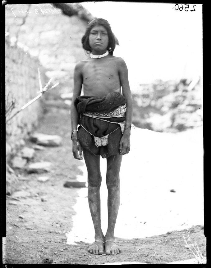 1898. Мальчик из племени Уичоли