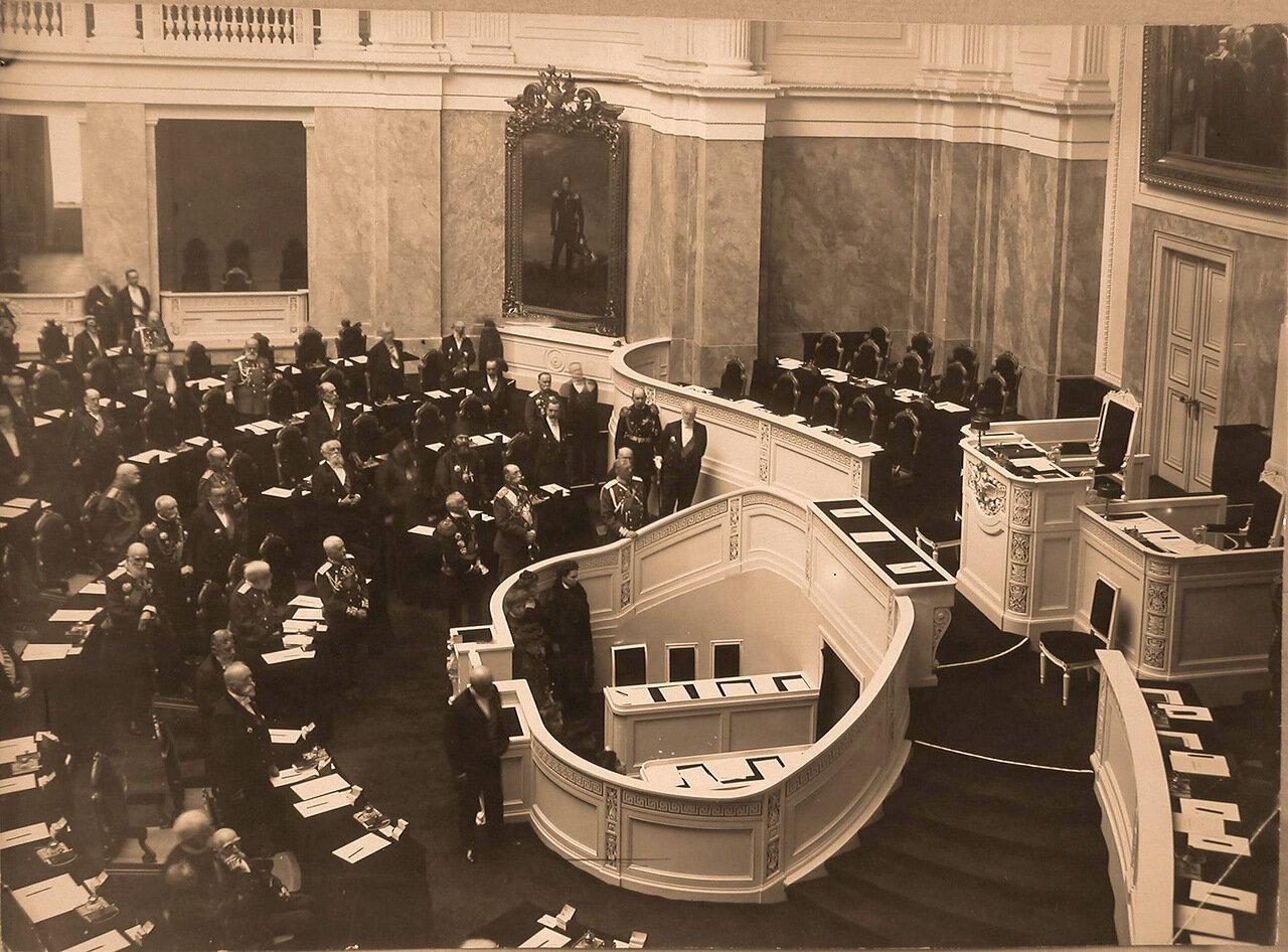 22. Заседание Государственного Совета в Мариинском дворце. 1908 г.