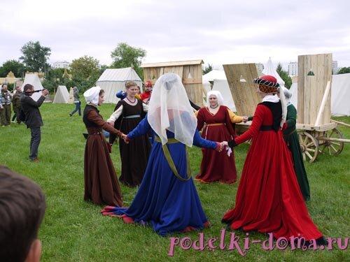 Средневековый фестиваль в Коломенском