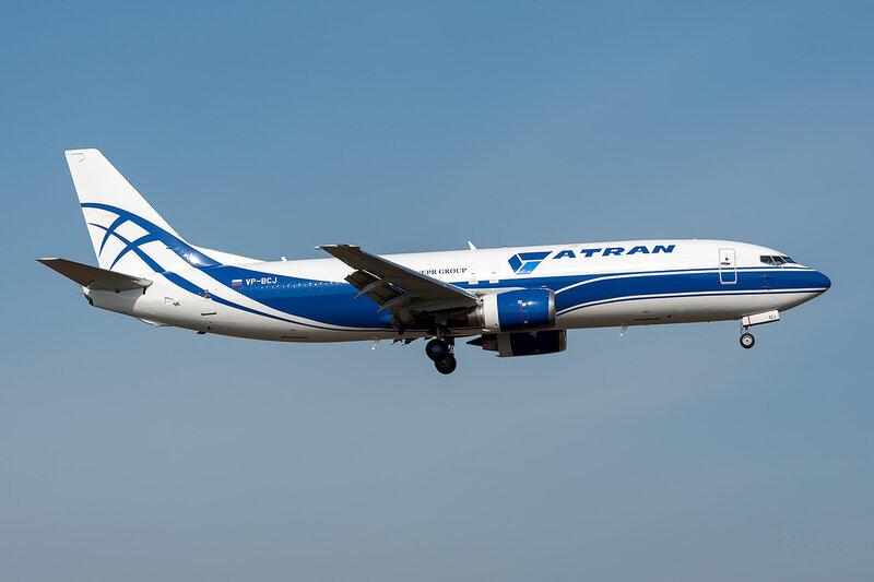 Boeing 737-46Q/SF (VP-BCJ) Атран DSC_3678