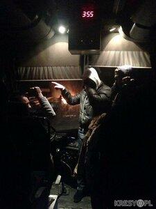 Украинские националисты захватили автобус с поляками
