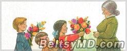 Поздравления с Днем рождения — бабушке