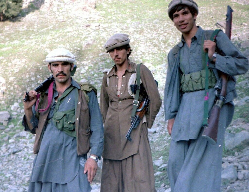 August_1985 Three mujahideen in Asmar.jpg