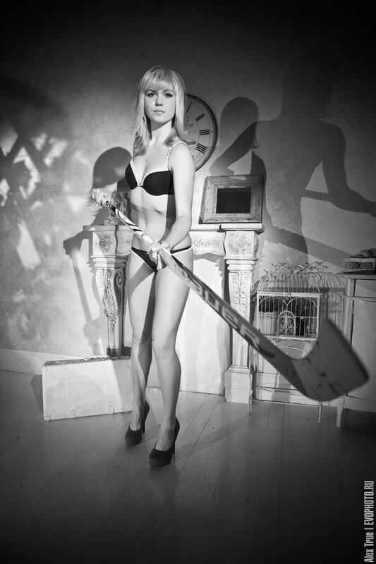 Анна Пругова - голкипер женской сборной России по хоккею (Фото)