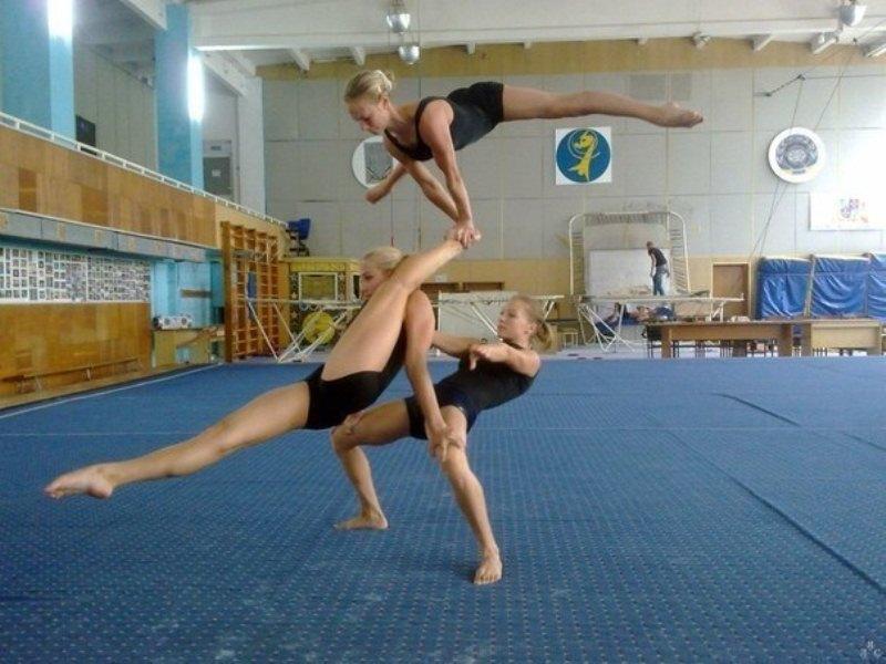 Фото девушек гимнасток 29 фотография
