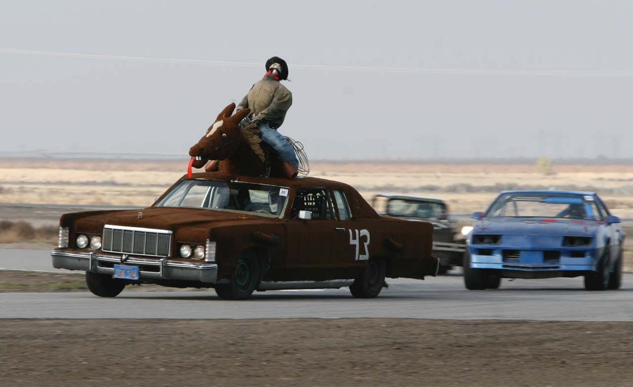 Wise Choices in 24 Hours of LeMons Steeds: Big, Fat Luxury Cars!
