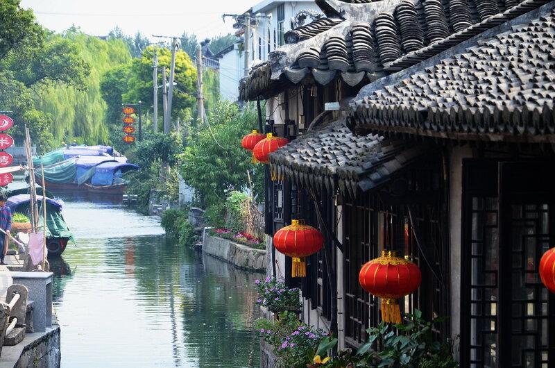 Чжоучжуан. Город на воде...
