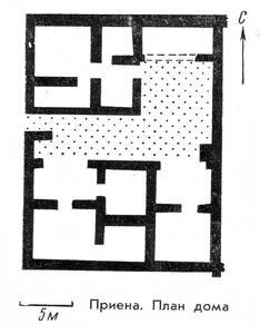 Жилой дом Приены , планы