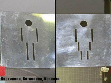 Туалетные таблички разных стран мира