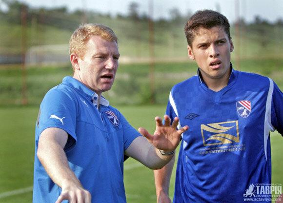 Адам Седлер - тренер Таврии U-21