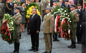 Prezydent oddał hołd żołnierzom z bitwy nad Bzurą