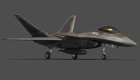 Это эскиз легкого китайского истребителя 5-го поколения J-23 (25).Вариант -- базирование на новом атомном АВУ китайской разработки