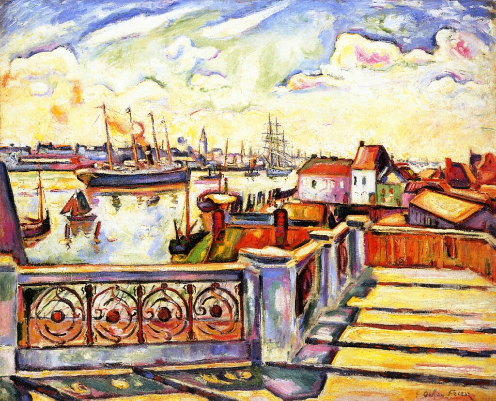Emile-Othon Friesz - The Port of Anvers, 1906.jpeg