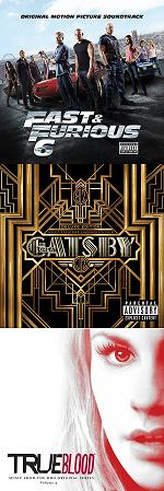 Рецензии на саундтреки True Blood / The Great Gatsby / Fast & Furious 6