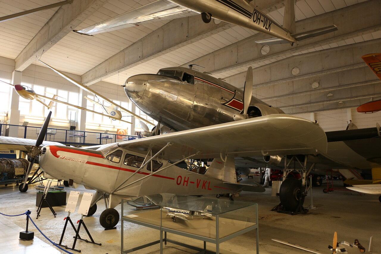 Авиамузей Хельсинки-Вантаа. Karhumäki Karhu 48B. Finnsh Aviation Museum