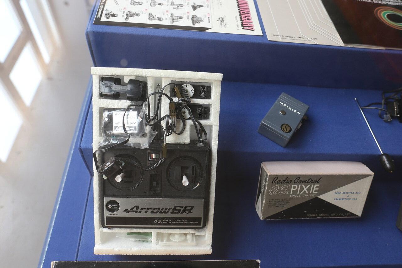 Helsinki-Vantaa Air Museum. Aircraft modeling. Radio control