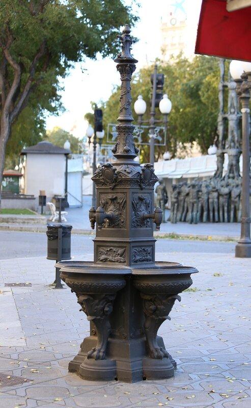 Таррагона. Новая Рамбла
