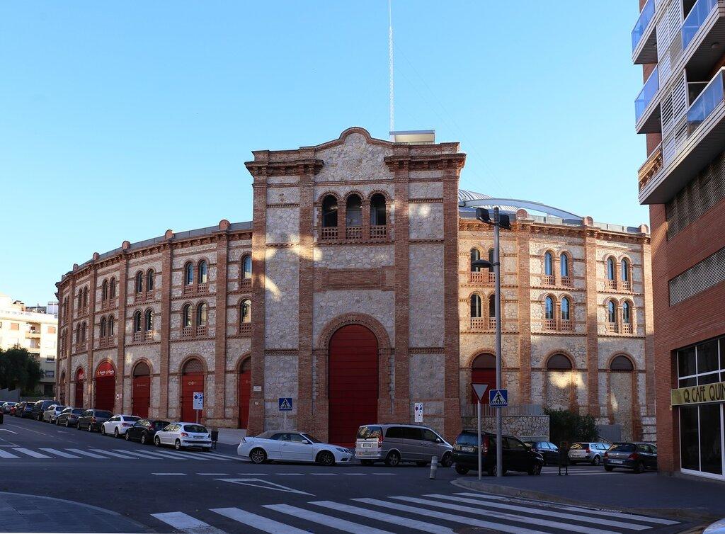 Таррагона. Арена для боя быков.