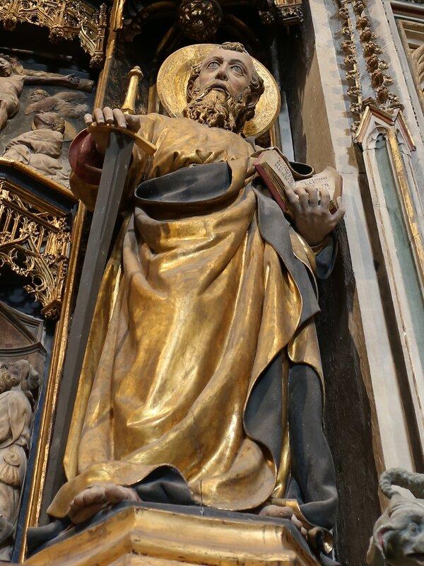 Tarragona Cathedral. Altar. Altar
