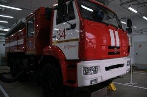 Открытие пожарной части в посёлке Кизнер