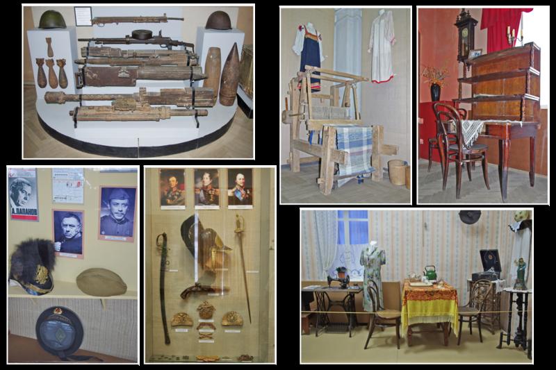 Экспозиция Вяземского Краеведческого музея
