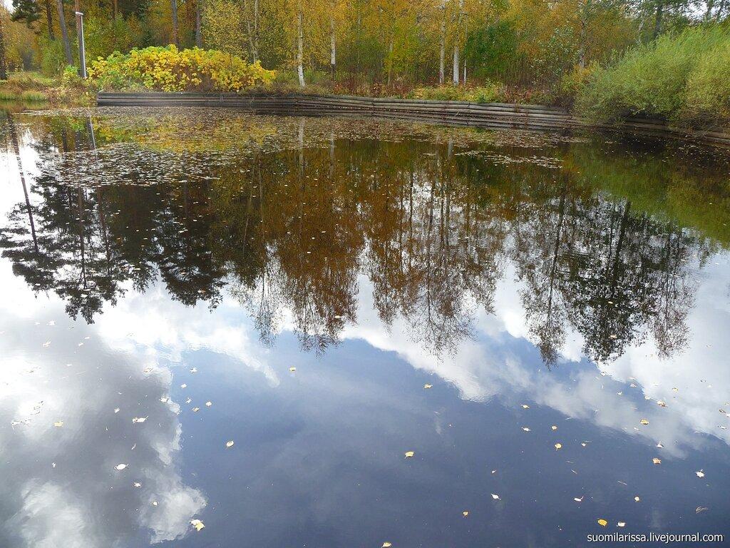 Южная Финляндия (Утти) в октябре.