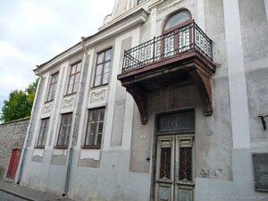Дом Достоевского в Таллине.