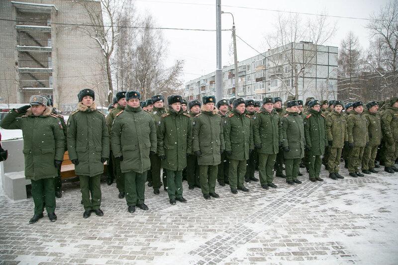 День Инженерных войск в Нахабино