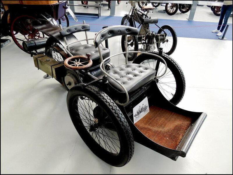 Autoworld 8053 Leon Boilee Type Voiturette 1896