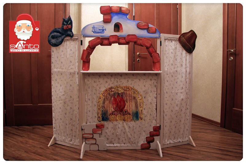 Ширма для кукольный театр своими руками фото 34