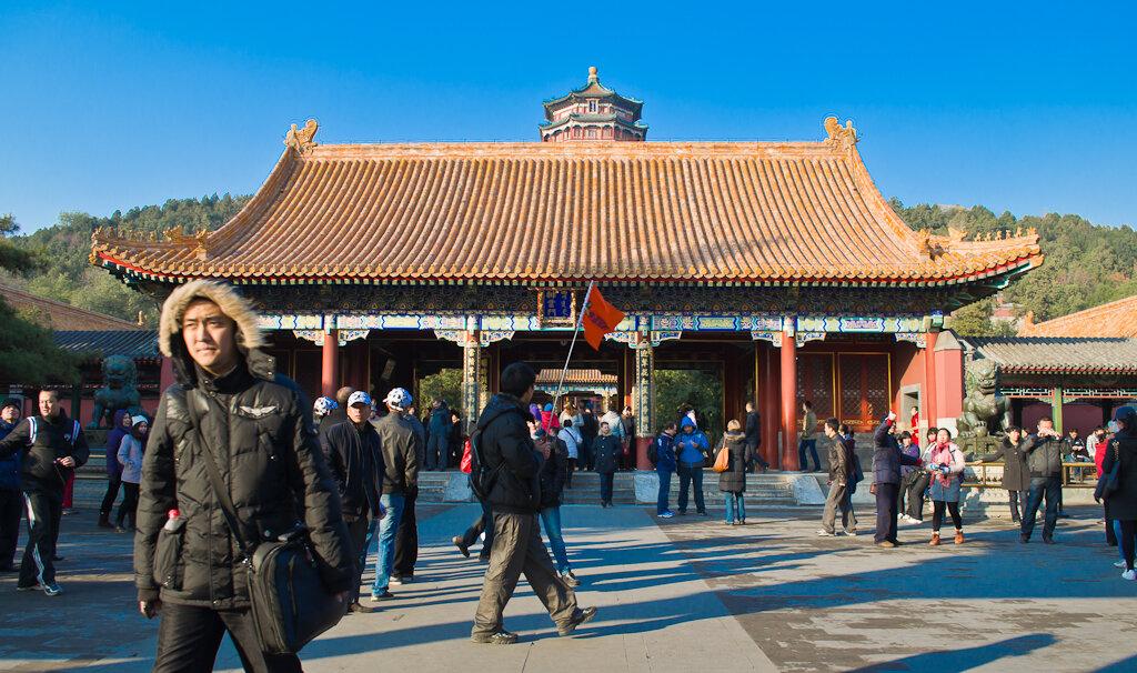 Фото. Архитектура в Поднебесной. Отзыв об экскурсии в Летний императорский дворец