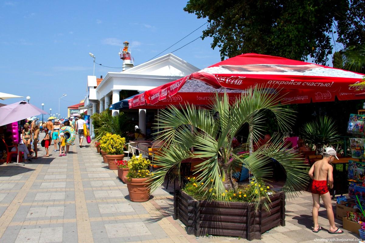 оснащен адлер курортный городок пляжи фото отметить, что