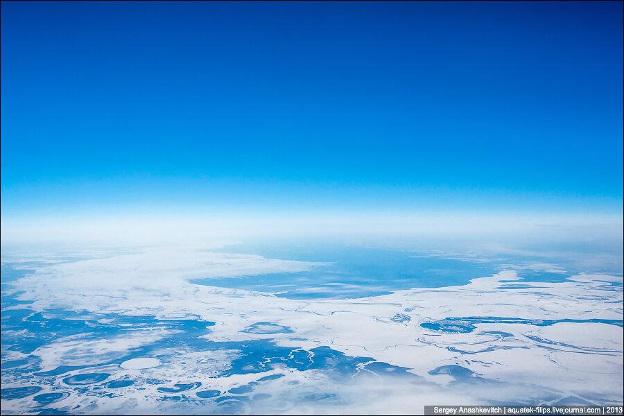 Россия с высоты 10 тысяч метров