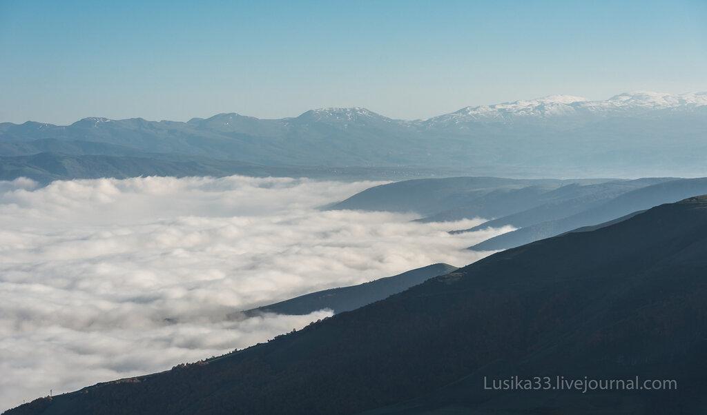 Море облаков, Иран, Каспий