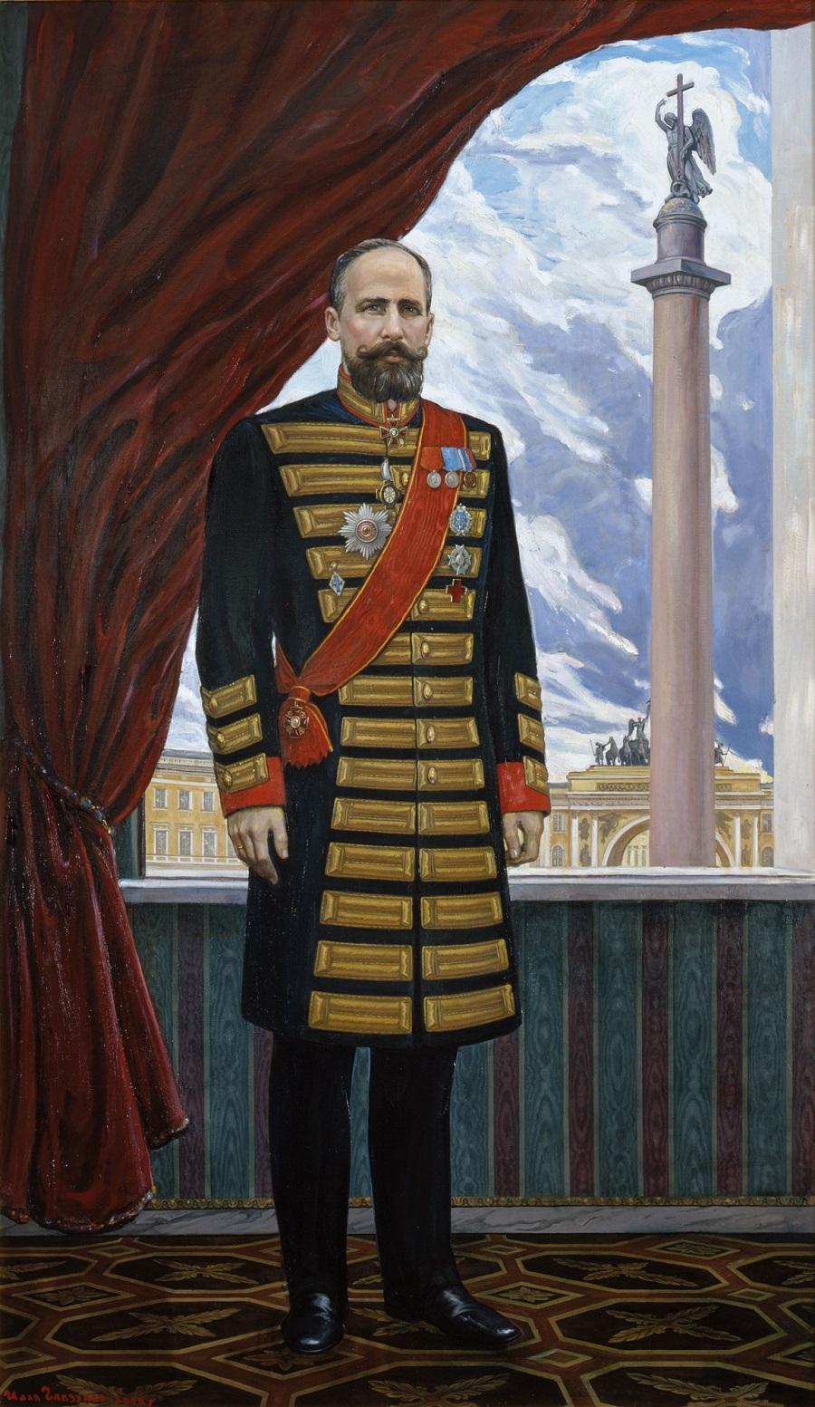 Портрет П.А. Столыпина.