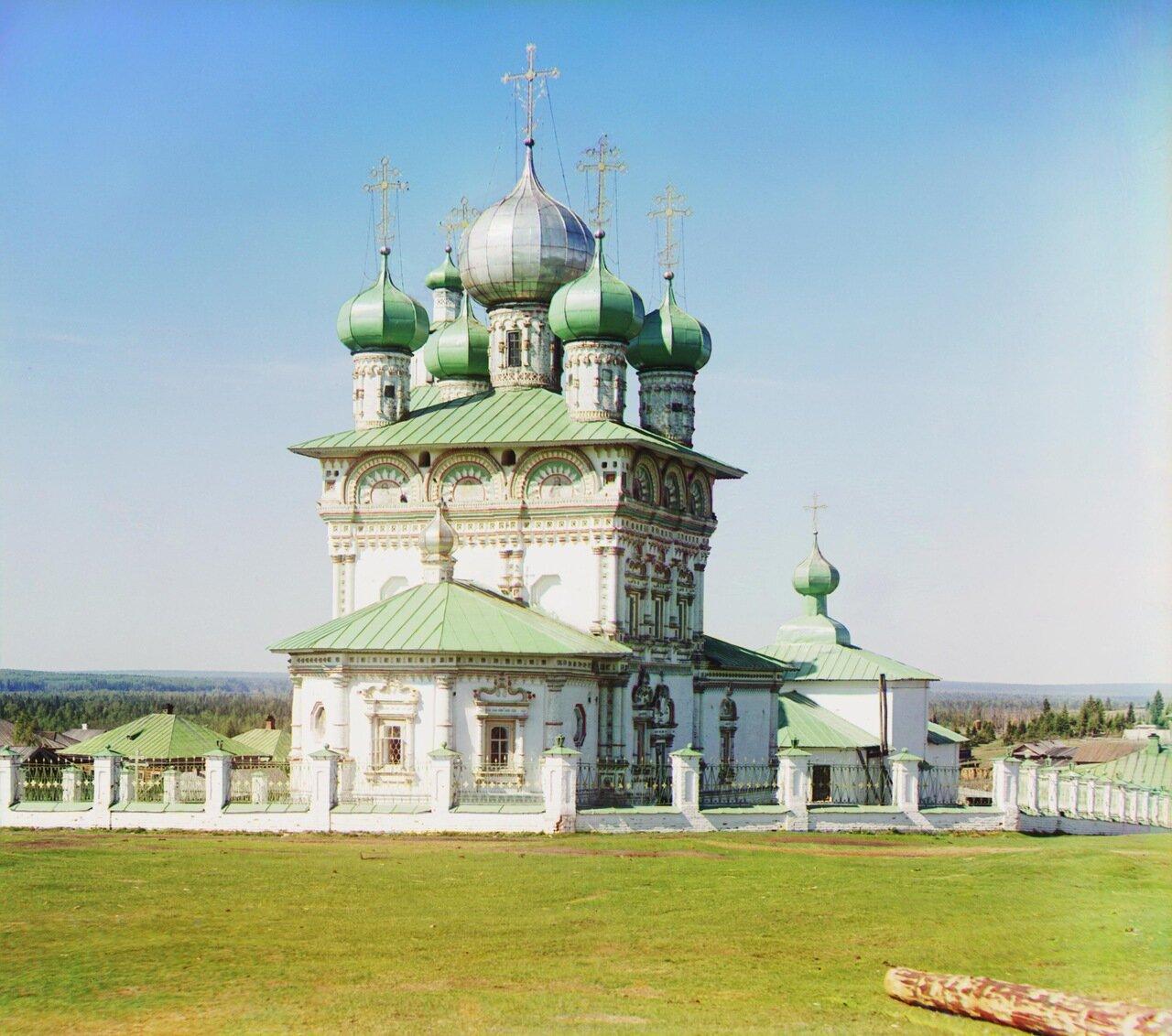 Старый храм во имя св. Николая Чудотворца. Не ранее 1912.