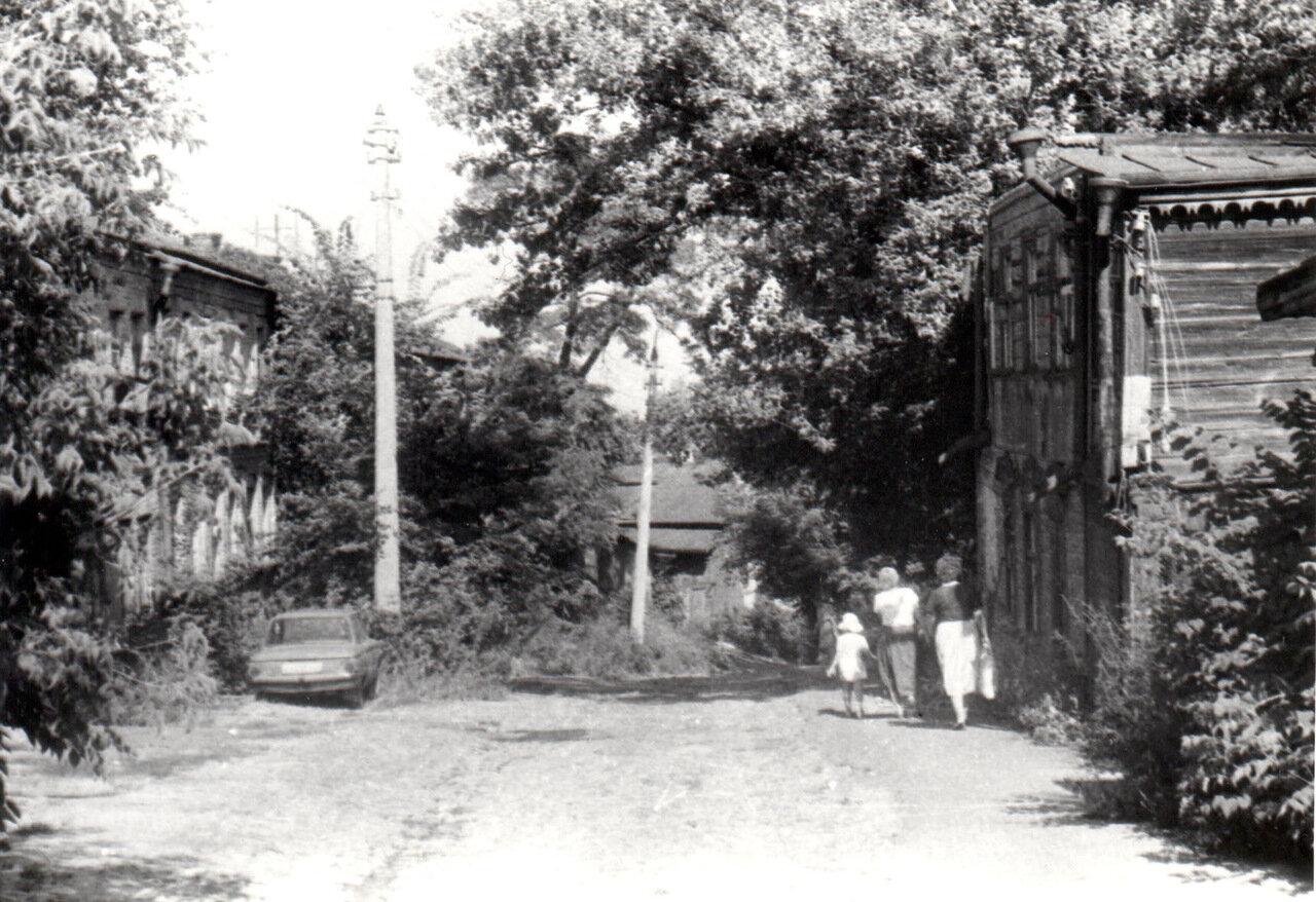 ул. Олеговская.1987 году