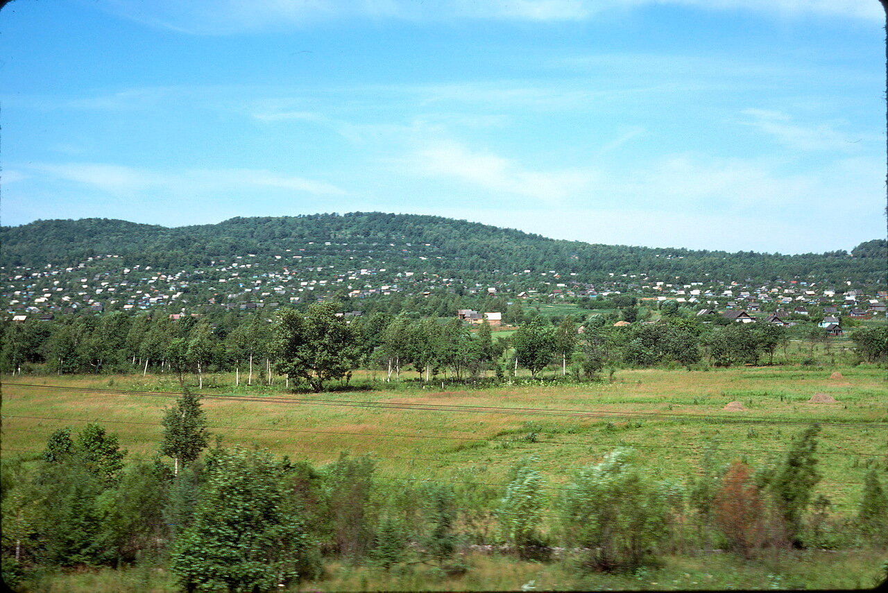Дачи на окраине Хабаровска