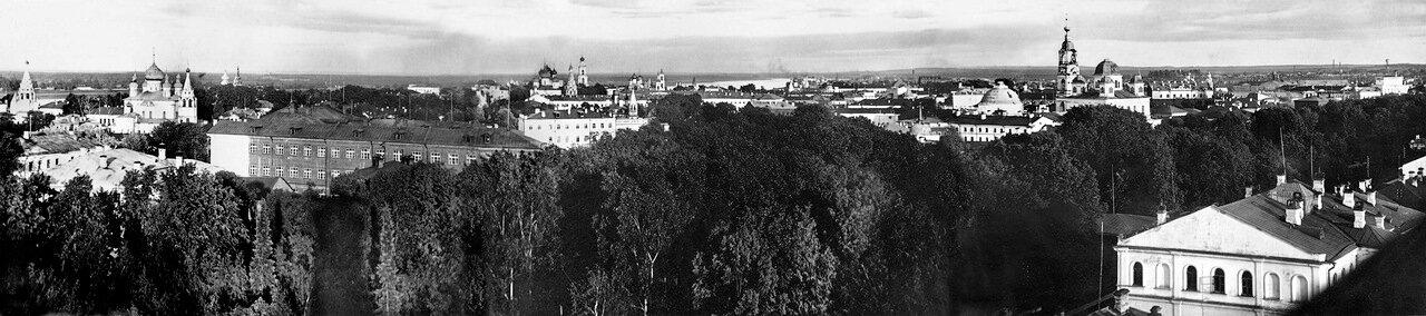 Панорама Семёновской (Красной) площади с каланчи Вольной пожарной дружины