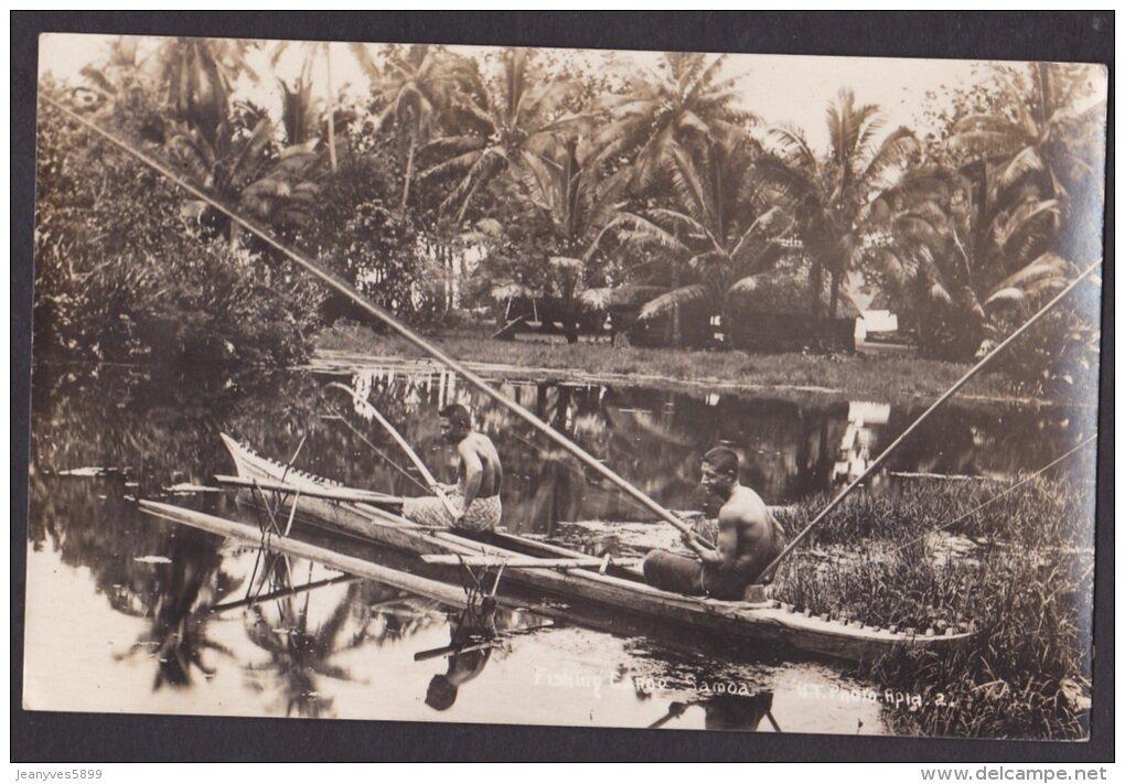Самоанцы за рыбалкой