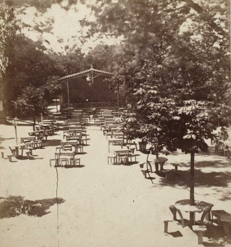 Эстрадная площадка в Швейцарской долине 1870