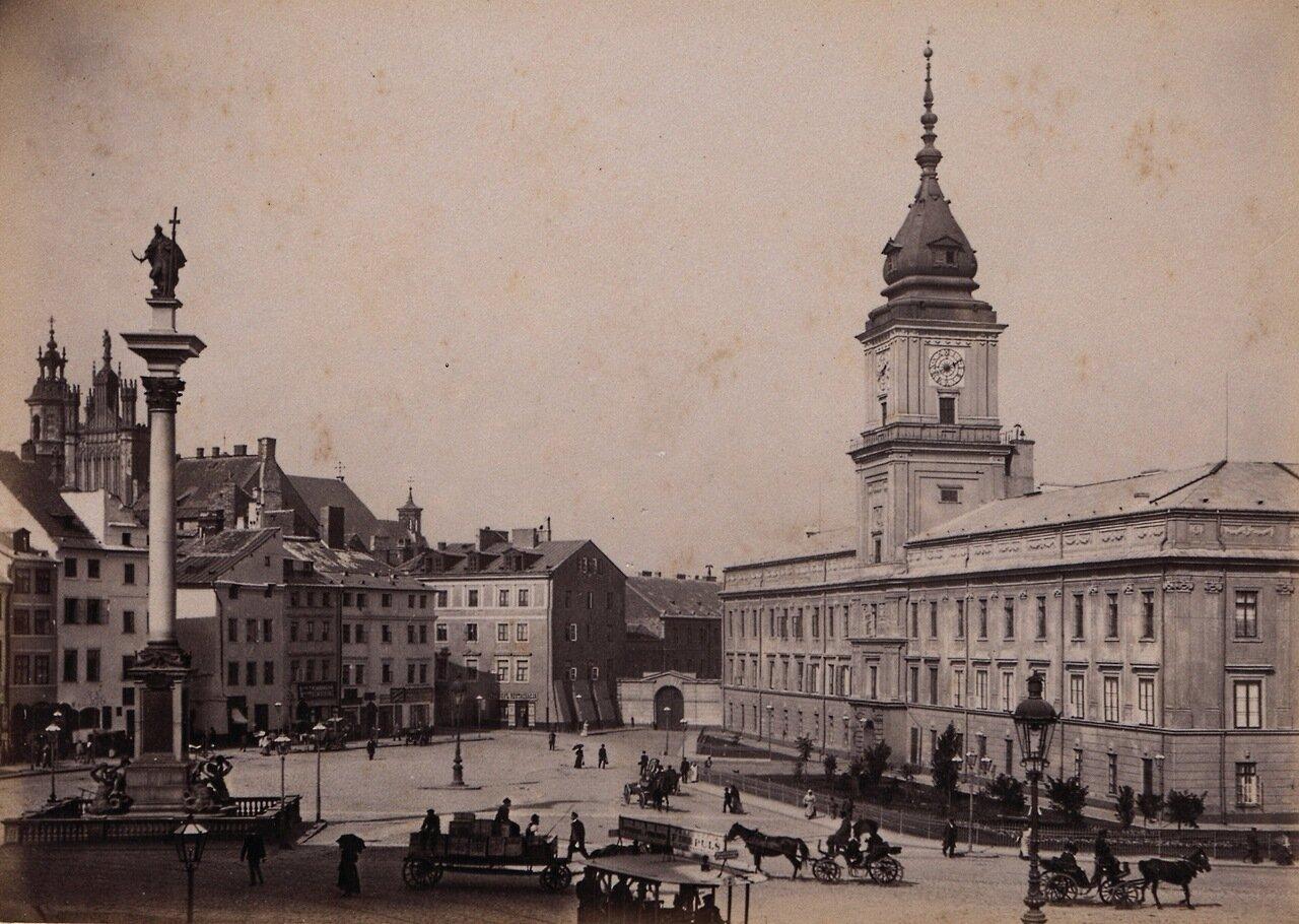 Замковая площадь 1880-е