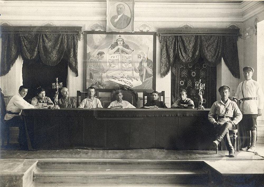 1920-е. Судебное заседание.