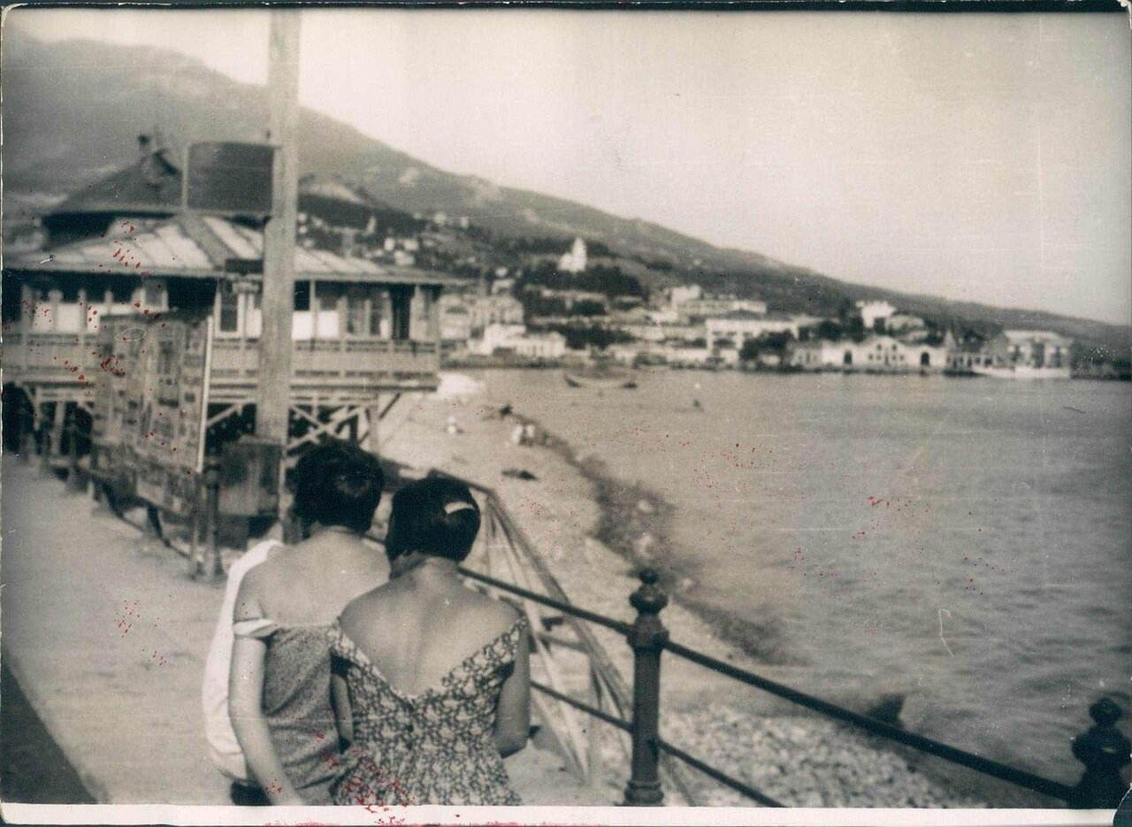 1929. Вид Ялты
