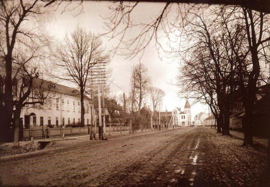 Рижская улица. 1911