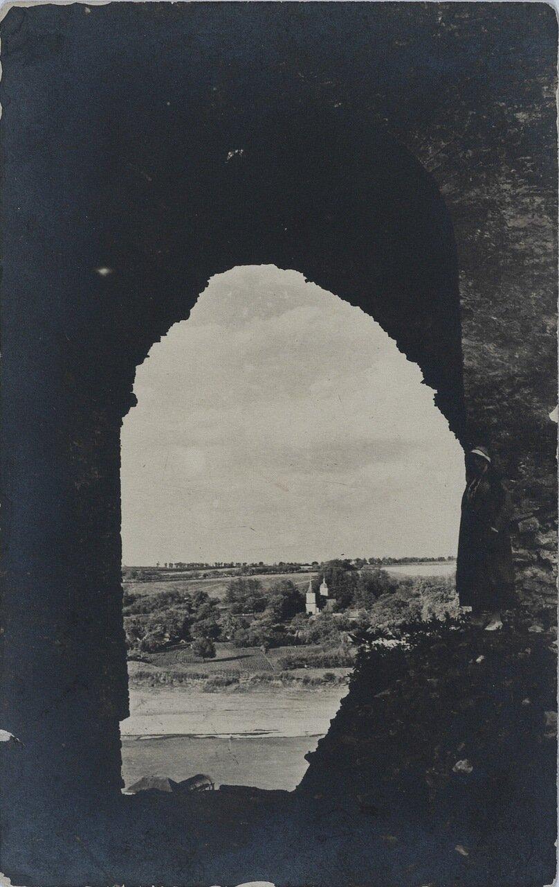 Вид из крепости